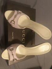 Gucci horsebit sandals