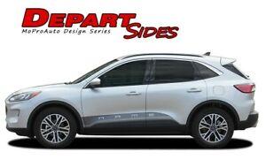 2020-2021 Ford Escape DEPART SIDE ROCKERS Stripes 3M Vinyl Graphics Door Decals