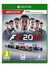 F1 2016 -- Limited Edition (Microsoft Xbox One, 2016)