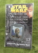 #D263. STAR WARS EPISODE III PIN #15 C-3PO, COURIER MAIL