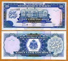 Haiti, 25 Gourdes, 2006, P-266 (266c), UNC