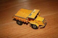 Matchbox Kingsize Vintage Manufacture Diecast Dump Trucks