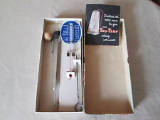 Vintage Betty Turness Westinghouse Thermometer Set in Box, Candy, Meat,& Skewer