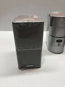New 1X Sealed Bose Jewel Double Cube Speaker Silver Lifestyle 28 38 48