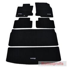Velours Fußmatten Edition Set 6-teilig für Nissan Qashqai II J11 ab Bj.02/2014 -