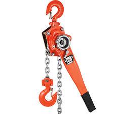 15 Ton 20ft Ratcheting Lever Block Chain Hoist Come Along Puller 1 12