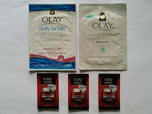 Single-Use-Pack Olay Cleansing Cloth and Olay Regenerist Anti-Aging Moisturizer
