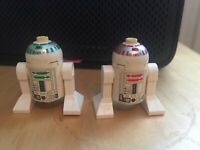 Lego R2-R7 sw0168 (Very Rare) & R5-D4 sw0029 Star Wars Episode 1