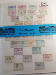 Afghanistan very fine MNH small collection on stockpages (2 times)