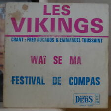 LES VIKINGS/FRED AUCAGOS/EMMMANUEL TOUSSAINT WAÏ SE MA FRENCH EP DISQUES DEBS