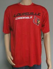 LOUISVILLE CARDINALS COLOSSEUM MEN'S SIZE L PERFORMANCE RED T-SHIRT POLYESTER
