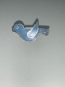 CampFire Girls Blue Bird Pin 1960s/1970s Enamel
