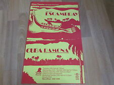 Grupo Teatro ESCAMBRAY & Cuba Ramona  SHAW Theatre Original Poster