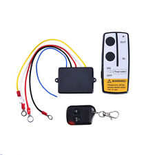 Wireless DC 12V 7A Relay RF Key Remote Control 50ft Winch For Truck Jeep ATV SUV