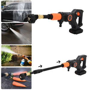 Cordless Pressure Washer Power Cleaner 320PSI Portable w/ Charger & 3.0A Battery