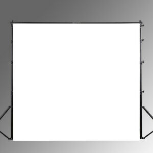 3*3ft White Photography Background Photo Backdrop EAGAA GZAA3