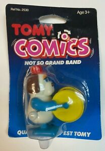 VTG Tomy Comics Not So Grand Band Drummer Wind Up Toy in Package