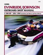 B733 Johnson Evinrude 2-300hp 1991-1994 Outboard Service Repair Shop Manual
