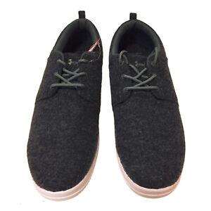 Under Armour UA Street Encounter Wool Slides Men's Shoes Gray Size 13