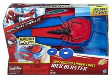 Marvel The Amazing Spider Man 2 Handheld Motorized Spider Force Web Blaster nerf