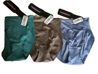 NAOMI & NICOLE CV00034 Wonder Edge Hi Cut Panty Choose Color SMALL NEW with Tags