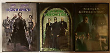 PELICULA DVD PACK MATRIX+MATRIX RELOADED 2DISCOS+MATRIX REVOLUTIONS 2 DISCOS _5