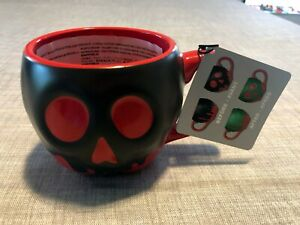 Disney Parks Snow White's Poison Apple Color Changing Coffee Mug Brand New