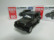 TAKARA TOMICA #80 JEEP WRANGLER 1/65,1~2pcs: No Track,3~28pcs: With Track