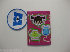 """Monsters, Inc. Tri-Fold Wallet 4.5"""" x 3.25"""" ( PINK ) BRAND NEW WITH TAGS"""
