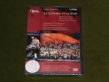 PROKOFIEV LA GUERRE ET LA PAIX WAR AND PEACE GURYAKOVA TDK 2x DVD OPERA New