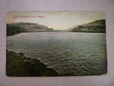 Vintage Postcard With A View Of The Upper Columbia River In Oregon 1910