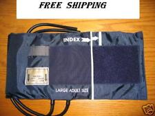 BLOOD PRESSURE CUFF  2 TUBE BLADDER,LARGE ADULT, NEW !!! $9.90 FREE SHIPPING