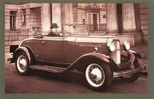 Postcard Nostalgia 1932 The New FORD V8 Reproduction Card