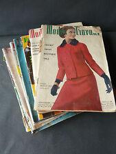 Lote 11 antiguos revistas Modos de trabajo y mujeres de'hoy'hui años 1960
