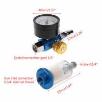 Auto Car Paint Primer Spray Gun Air Regulator Water Oil Trap Filter Set New