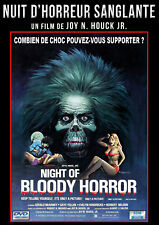 DVD Nuit d'horreur sanglante (Night of Bloody Horror)