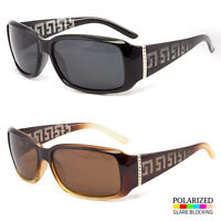Polarized Retro Vintage Womens Designer Sunglasses Shades Fashion  Black Brown