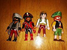 Playmobil 4 X Pirate Figures