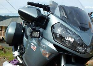 M8 Driving light mounts AKA Pod-Perch for the Kawasaki ZG1400/GTR1400/Concours14