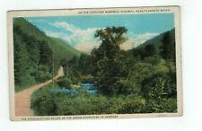 VT Green Mountains Vermont 1935 post card Ottauquechee Valley Memorial Highway