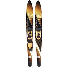 Ho Skis Blast 67-Inch Waterskiing Skis Trainer Bar Bindings, Yellow (Open Box)