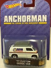 Anchorman  '77 Custom Dodge Van - Hot Wheels Retro Entertainment