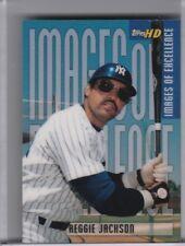 2001 TOPPS HD #IE2 REGGIE JACKSON IMAGES OF EXCELLENCE NEW YORK YANKEES HOF 0297