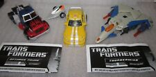 Hasbro Transformers CHUG Classics Lot MINT/COMPLETE! Bumblebee Prime Thunderwing