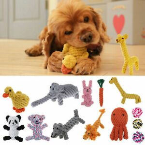 Pet Chew Toys Braided Rope Puppy Dog Teeth Dental Cleaning Toy