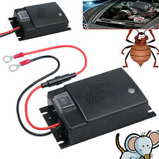 Ultrasonic Mouse Repeller Car Vehicle Animal Deterrent 12v Rat Rodent Pest DC AU