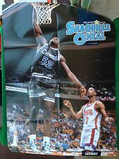 (AB95) Poster 81x55 cm SHAQUILLE O'NEAL ORLANDO MAGIC basket NBA