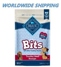Blue Buffalo Bits Tender Beef Dog Treats 4 Oz WORLDWIDE SHIPPING