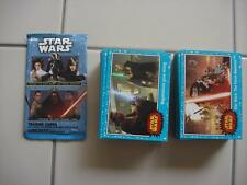 2015 JOURNEY TO STAR WARS THE FORCE AWAKENS BASE BLUE STARFIELD CARD SET ALL 110