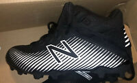 New Balance boys Freeze V2 Lacrosse Cleats Black Silver Size 2.0 2Y Nib Lax Wide